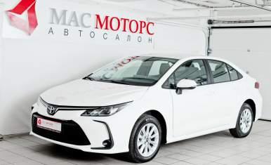 Toyota Corolla Белый